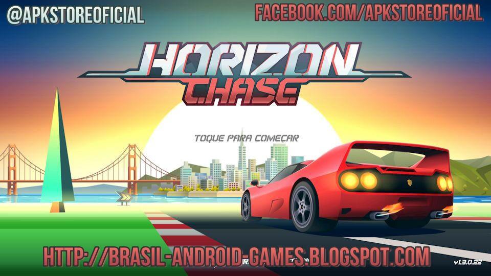 Horizon Chase - World Tour imagem do jogo