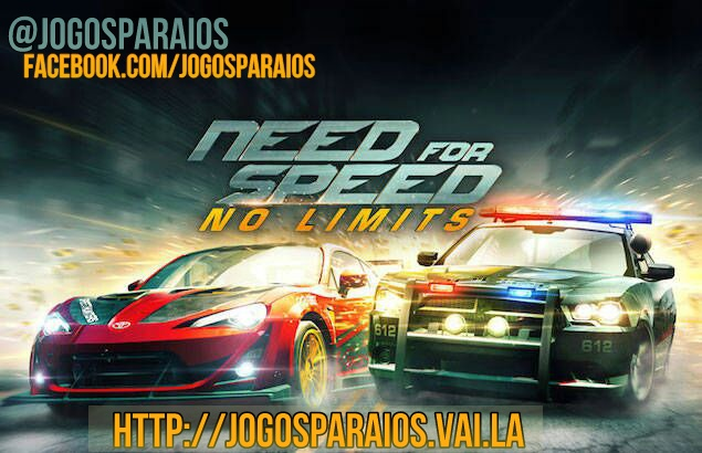 Need for Speed No Limits imagem do jogo iOS