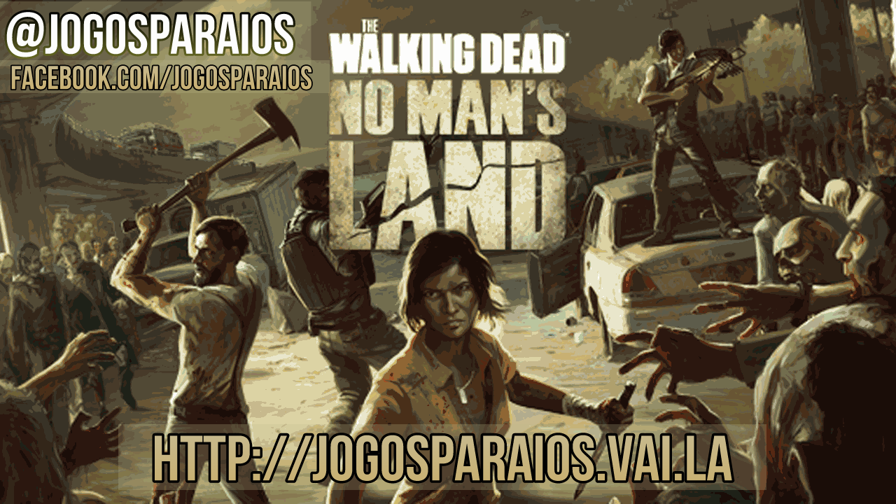 The Walking Dead: No Man's Land imagem do jogo iOS