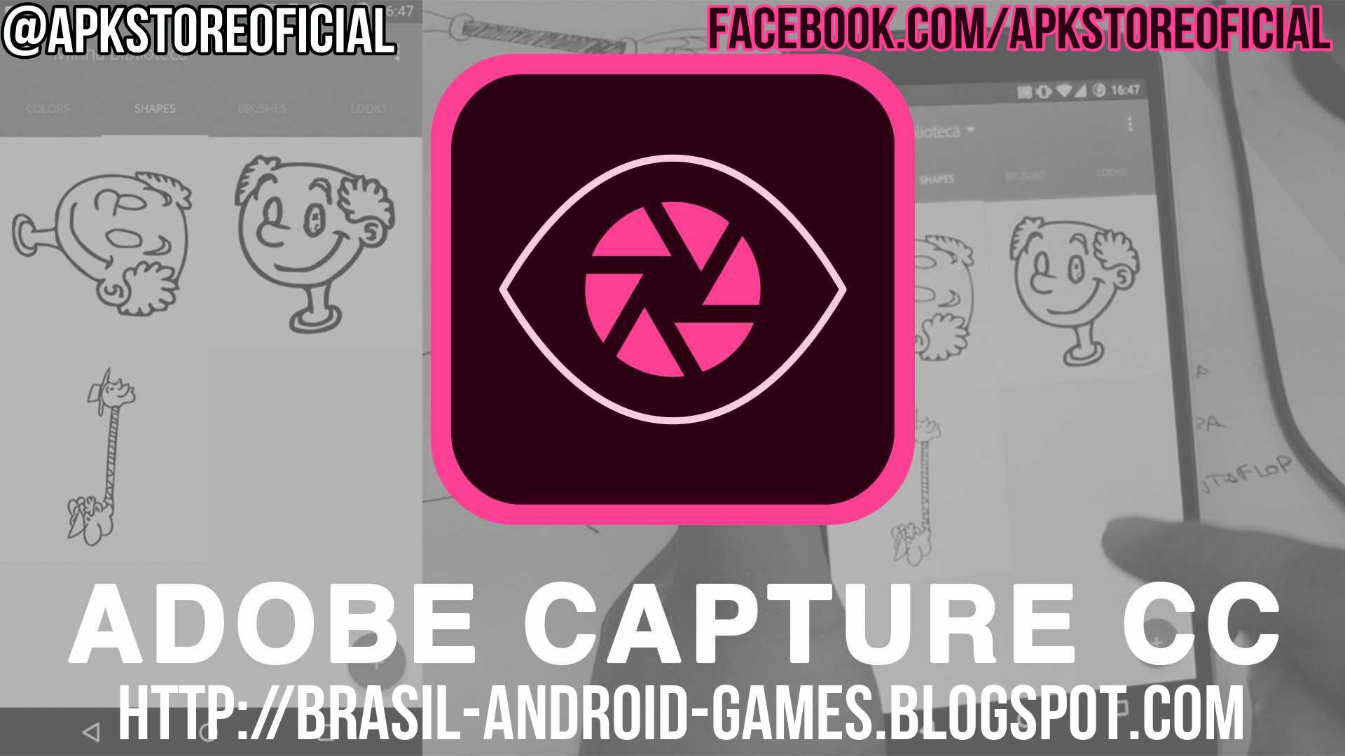 Adobe Capture CC imagem do Aplicativos