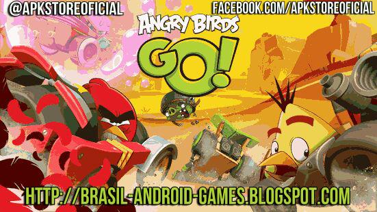 Angry Birds Go! imagem do Jogo