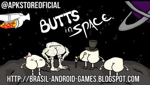 Butts In Space imagem do Jogo