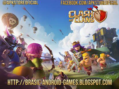 Clash of Clans imagem do Jogo