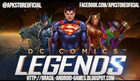 DC Legends imagem do Jogo
