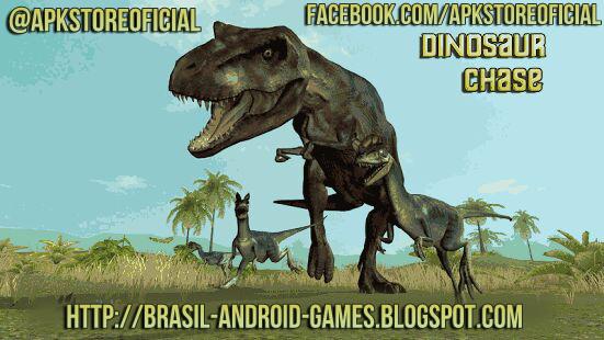 Dinosaur Chase Simulator imagem do Jogo