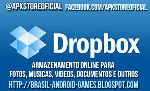 Dropbox imagem do Aplicativo