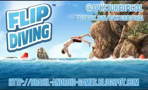 Flip Diving imagem do Jogo