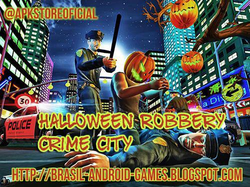 Robbery Halloween Crime City imagem do Jogo