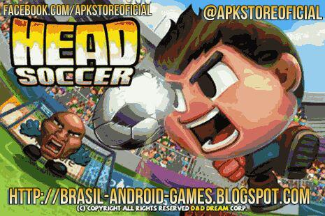 Head Soccer imagem do Jogo