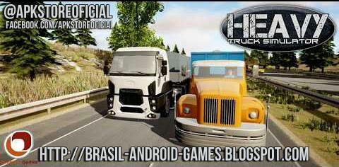 Heavy Truck Simulator imagem do Jogo