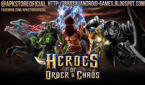 Heroes of Order & Chaos imagem do Jogo