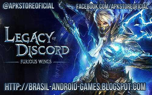 Legacy of Discord-FuriousWings imagem do Jogo