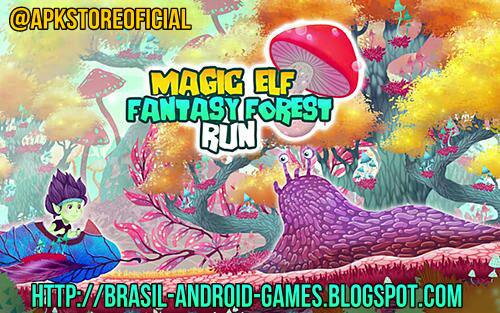Magic Elf Fantasy Forest Run imagem do Jogo