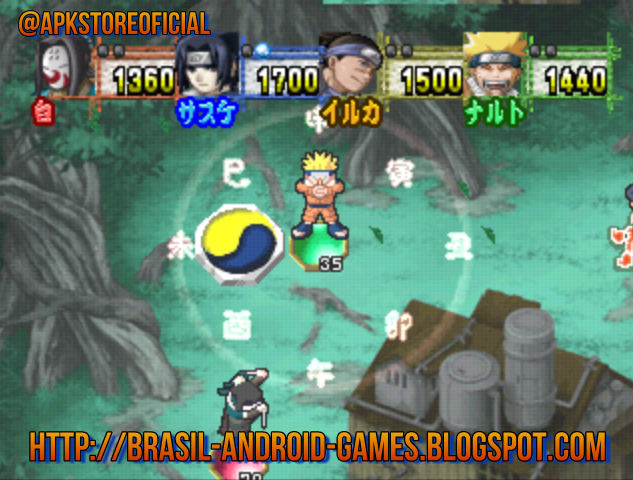 Naruto - Shinobi no Sato no Jintori Gassen psx iso screenshot