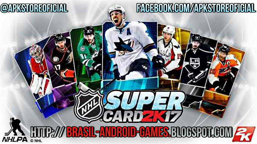 NHL SuperCard 2K17 imagem do Jogo