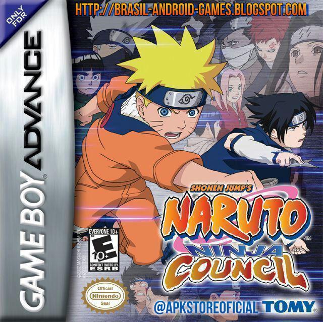 Naruto: Ninja Council (Eng) capa do jogo GBA