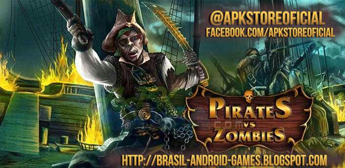 Pirates vs. Zombies imagem do Jogo