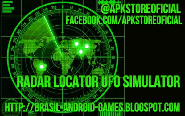 Radar locator UFO simulator imagem do Jogo