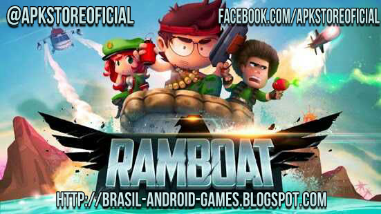Ramboat: Shoot and Dash imagem do Jogo
