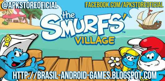 Smurfs Village imagem do Jogo