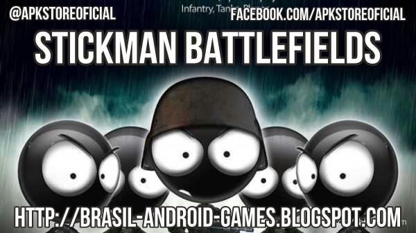 Stickman Battlefields imagem do Jogo