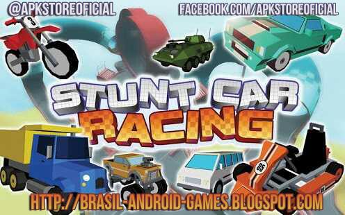 Stunt Car Racing - Multiplayer imagem do Jogo