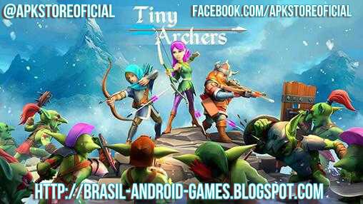 Tiny Archers imagem do Jogo