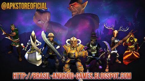 Villagers & Heroes 3D MMO imagem do Jogo