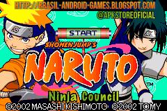 Naruto: Ninja Council (Eng) imagem do jogo GBA
