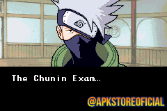 Naruto: Ninja Council 2 GBA screenshot